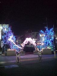 駅前夜景2