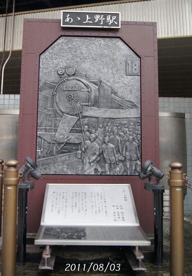 8.3上野駅1