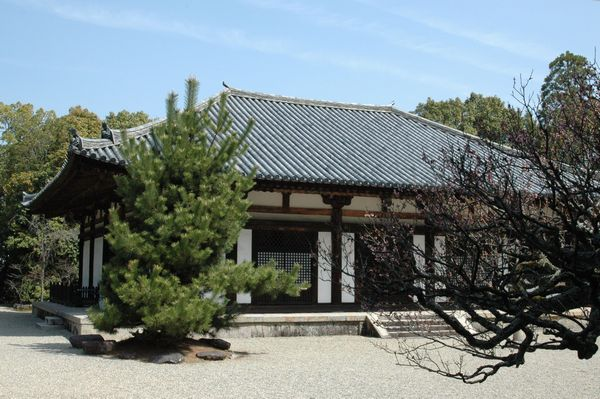 秋篠寺本堂1