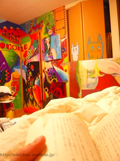 部屋@本読む読む