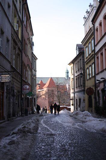 旧市街の小道