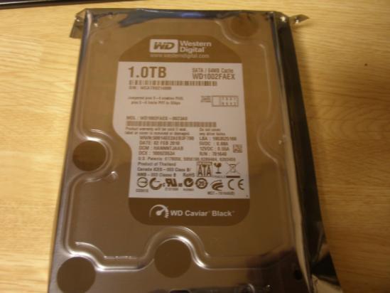 S-ATA3対応HDD