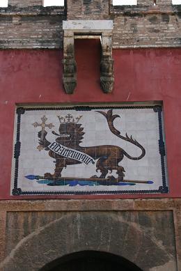 夏休み セビリア 王宮 ライオン
