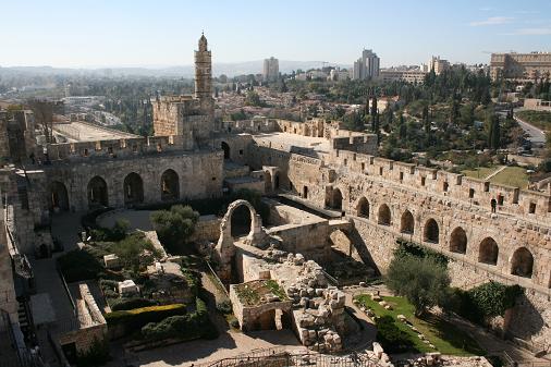 エルサレム ダビデの塔