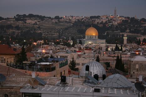 エルサレム 夜景