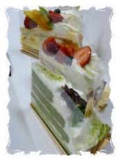 12月 パパお土産 結婚式記念日 ケーキ