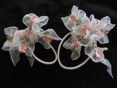 花レースリボン