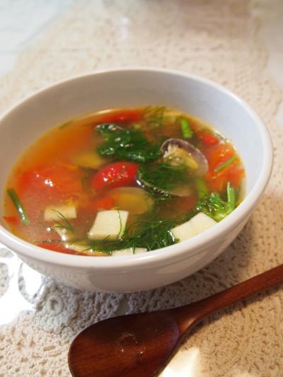 フェンネルスープ