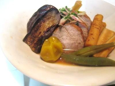 豚ヒレ肉と野菜の梅シロップ煮