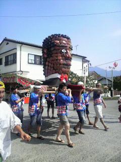 火伏地蔵祭~造り物