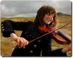 Epic Violin Girl