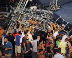 Stage Collapse at Indiana State Fair