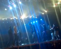 Metallica Concert Chaos
