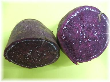 紫芋-断面