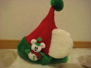 ミッキー帽