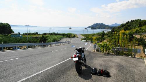 ここは大三島の真ん中だったぁ♪