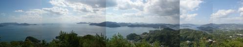 高見山 パノラマビュー