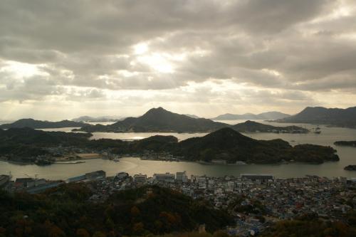 因島公園からの眺め