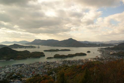因島公園展望台からの眺望
