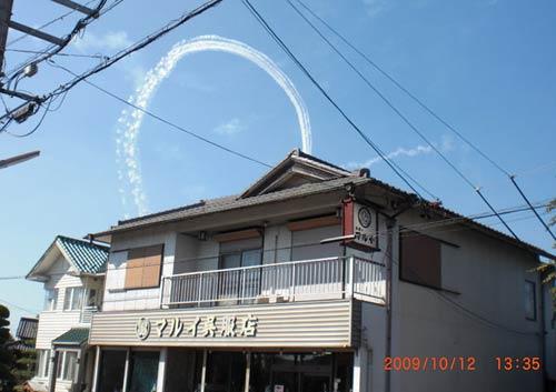 2009.10.12航空ショー、宙返り