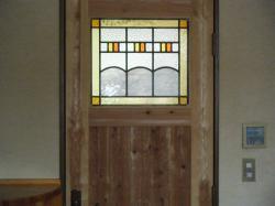 ドア ステンドグラス 1