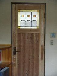 ドア ステンドグラス 2