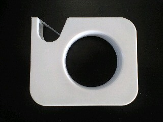 100130mmpダイソー白テープカッター