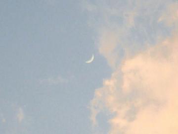 110508黄昏時の空