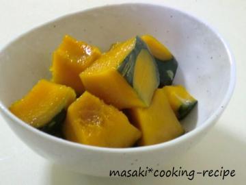 110907かぼちゃのシンプル煮