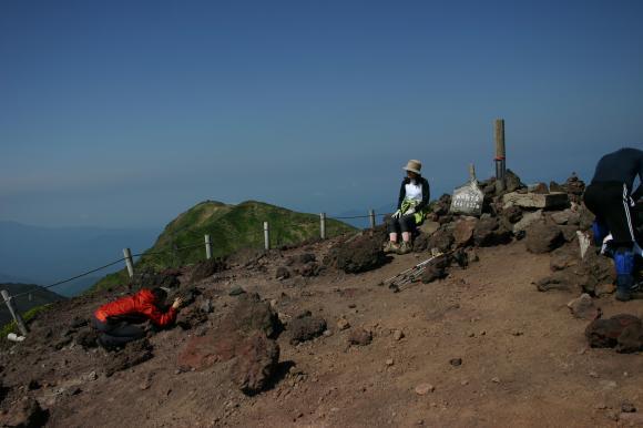 男女岳山頂1
