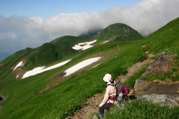 笙ヶ岳方面
