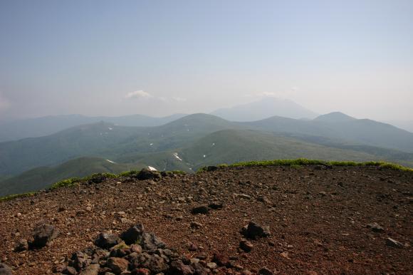 男女岳山頂2