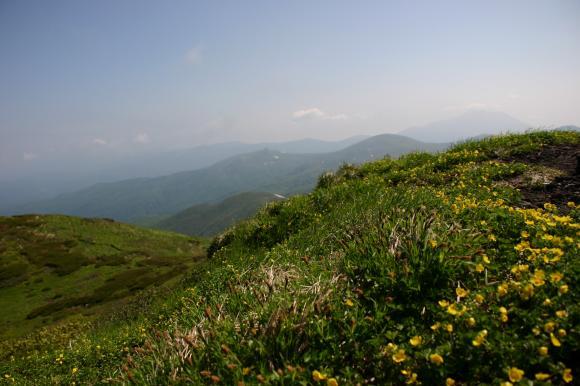 男女岳山頂3