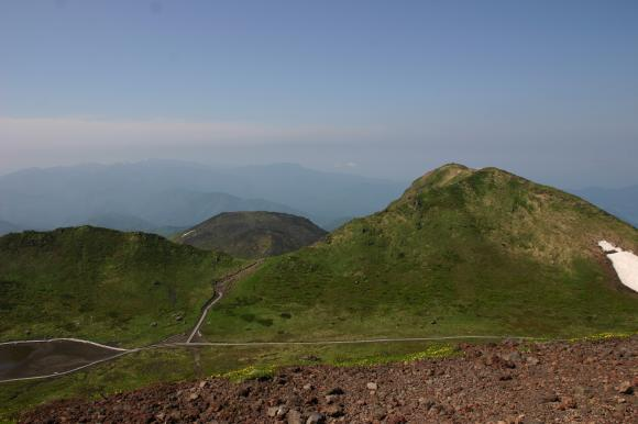 男女岳山頂4