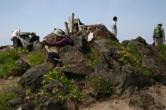 男岳山頂1