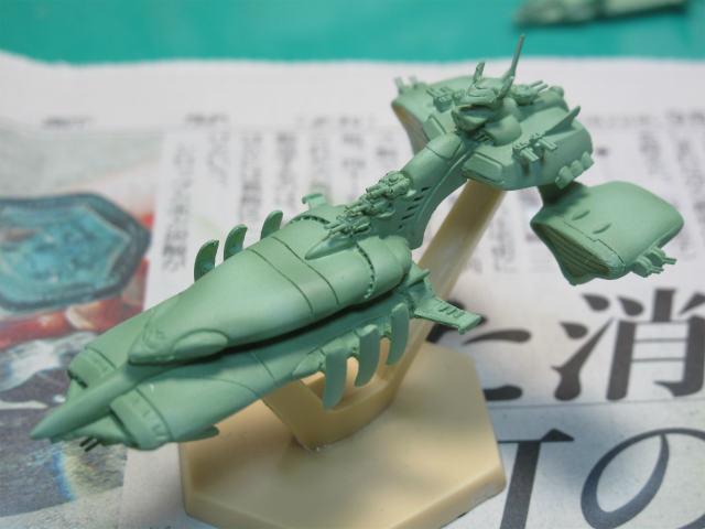チベ級高速巡洋艦&ムサイ級軽巡洋艦ペールギュントを作ってみる①