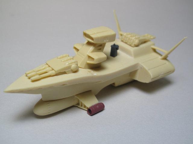 チベ級高速巡洋艦&ムサイ級軽巡洋艦ペールギュントを作ってみる②