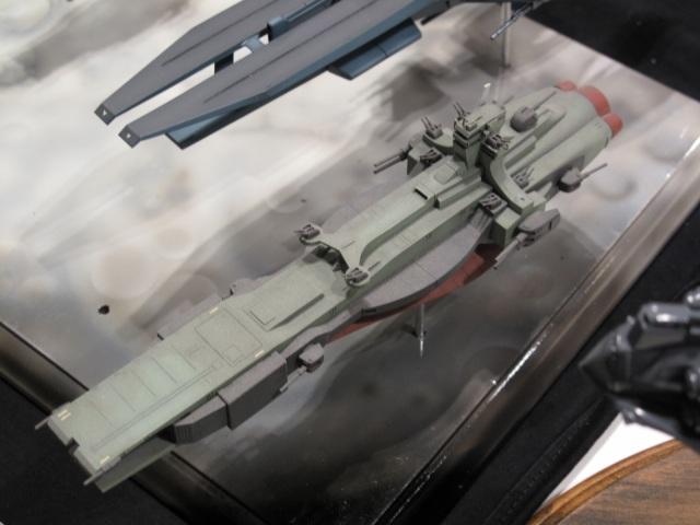1/1200 んどぱら屋 サラミス改級軽巡洋艦モンブラン