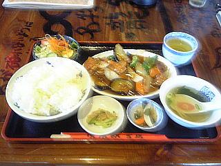 110731_00003酢豚定食883円