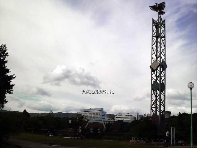 101011_北千里公園_「銀の鳥」時計塔