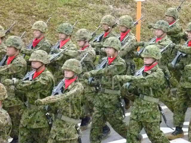 101031_福知山駐屯地創立60周年記念行事_第7普通科連隊