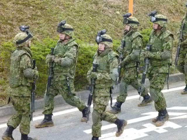 101031_福知山駐屯地創立60周年記念行事_武装工作員対処部隊
