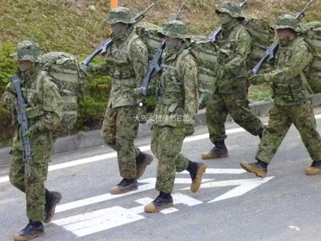 101031_福知山駐屯地創立60周年記念行事_レンジャー部隊