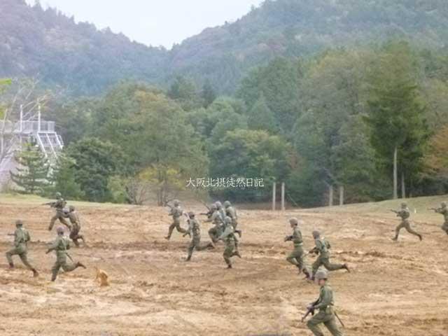 101031_福知山駐屯地創立60周年記念行事_歩兵たち