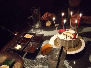 からすケーキ