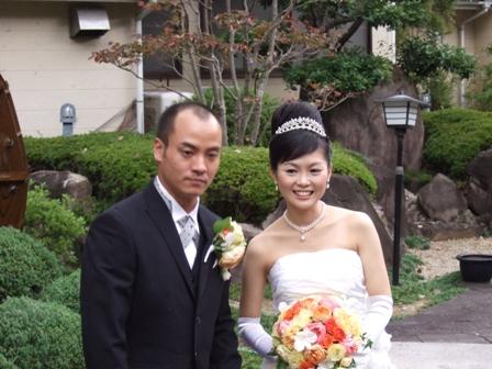 結婚したのはこの二人!!(^_^)