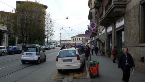 ミラノのゴミ箱