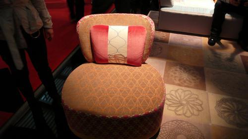 和柄の椅子①