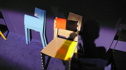 折り畳みの椅子