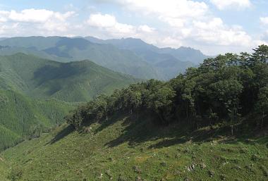 大峰山系1